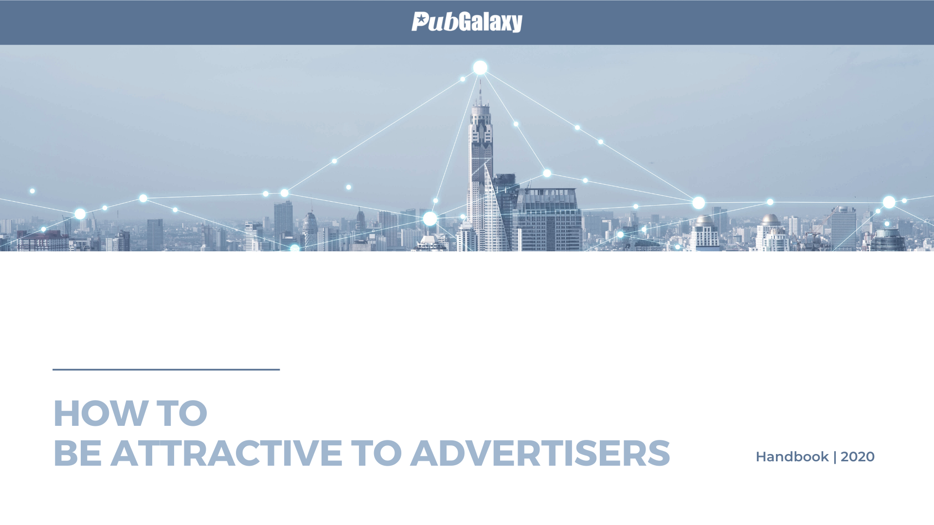 How to be more attractive to advertisers